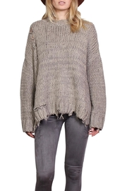 Rock Etiquette Bohemian Ring Sweater - Front cropped