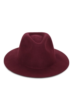 Rock Etiquette Burgundy Hipster Hat - Alternate List Image