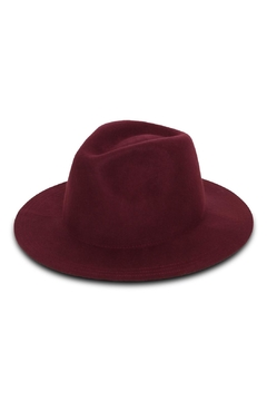 Rock Etiquette Burgundy Hipster Hat - Product List Image