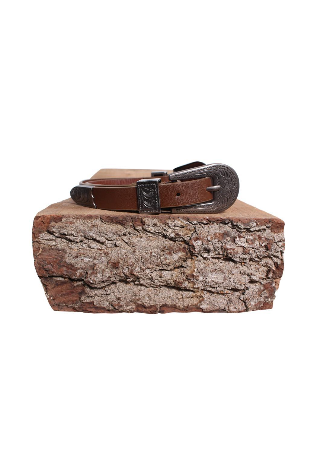 Rock Etiquette Double Buckle Belt - Side Cropped Image
