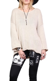 Rock Etiquette High Low Sweater - Product Mini Image