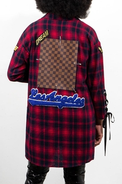 Rock Etiquette Red Plaid Tunnic Top - Product List Image