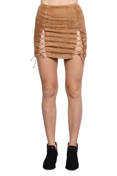 Shoptiques Product: Vegan Suede Skirt