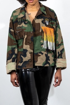 Rock Etiquette Vintage Army Jacket - Product List Image