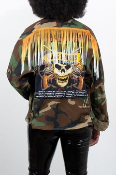 Rock Etiquette Vintage Army Jacket - Alternate List Image