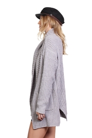 Rock Etiquette Winter Cardigan - Front full body