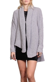 Rock Etiquette Winter Cardigan - Front cropped
