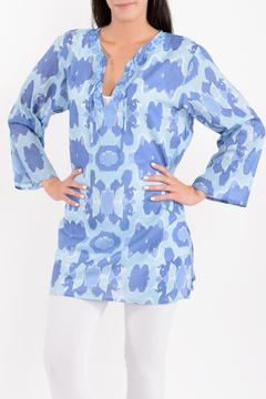 Rock Flower Paper 3/4 Sleeve Tunic - Product List Image