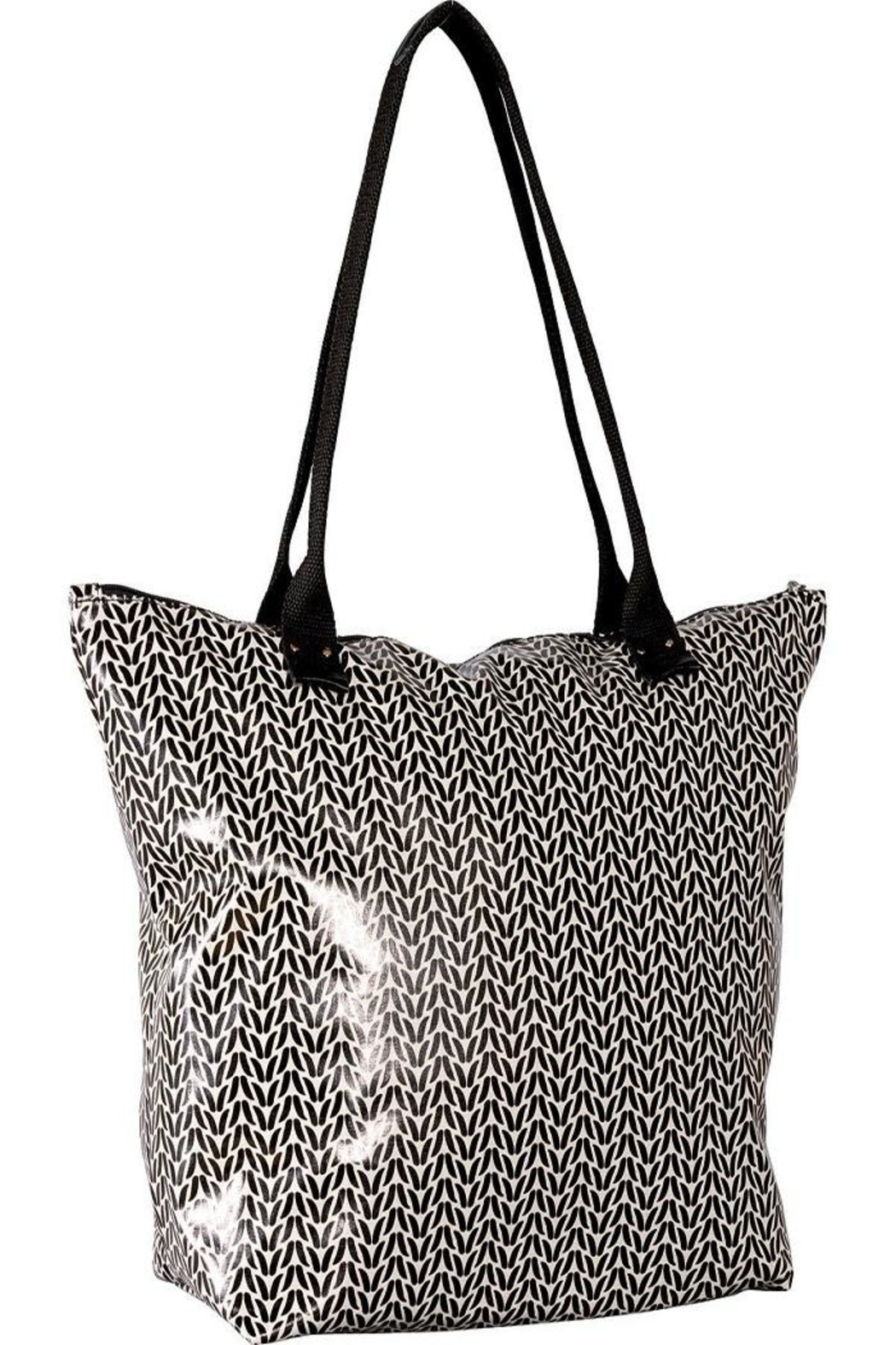 Rock Flower Paper Black Carryall Bag From Tennessee By Spa 9700