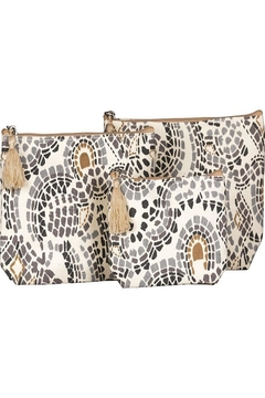 Shoptiques Product: Canvas Cosmetic Bags
