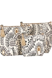 Rock Flower Paper Canvas Cosmetic Bags - Product Mini Image