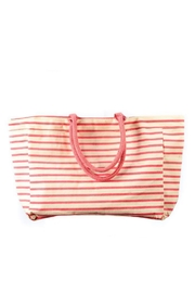 Rock Flower Paper Bateau Stripe Tote Bag - Front cropped