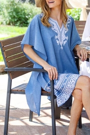 Rock Flower Paper Kaminia Embroidered Kaftan - Front cropped