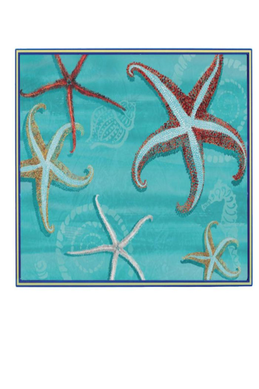 Rock Flower Paper Sea Star Tray Front Cropped Image