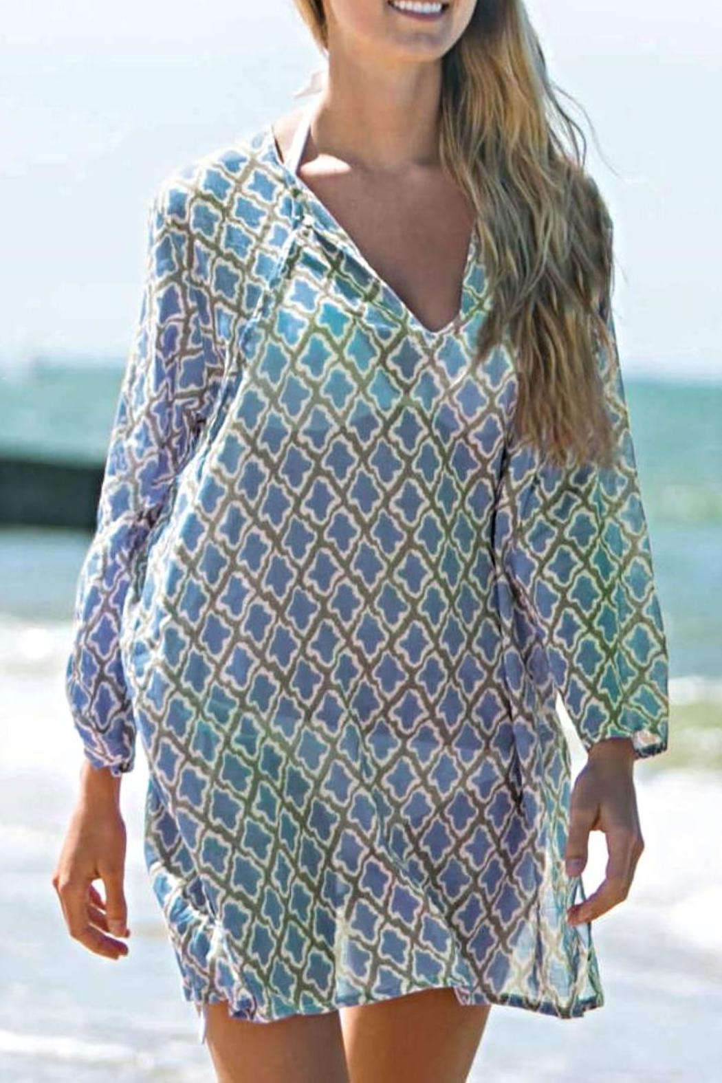 Rock flower paper sumba beach tunic from new york by isabellas rock flower paper sumba beach tunic front cropped image mightylinksfo
