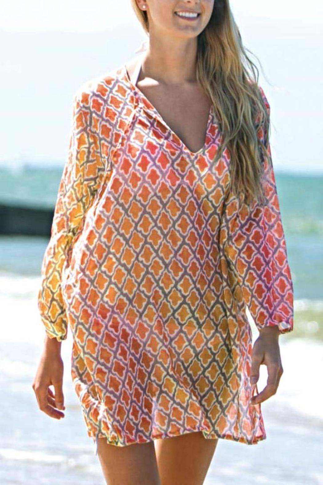 rock flower paper sumba beach tunic from new york by