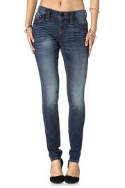 Rock Revival Barby Midrise Skinny - Side cropped