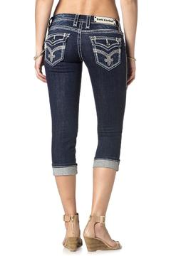 Rock Revival Clover Embellished Capri - Alternate List Image