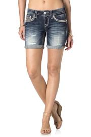 Rock Revival Kaylee Denim Shorts - Product Mini Image