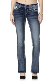 Rock Revival Reversed Bootcut Jeans - Side cropped