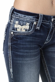 Rock Revival Reversed Bootcut Jeans - Other