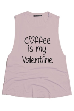 Shoptiques Product: Coffee Valentine Top
