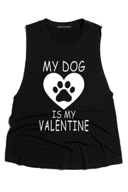 Rock Rose Couture Dog Valentine Top - Front cropped
