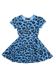 Rock Your Baby Blue Leopard Dress - Product Mini Image