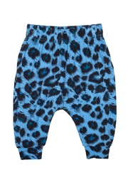 Rock Your Baby Blue Leopard Trousers - Product Mini Image