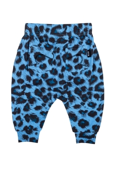 Rock Your Baby Blue Leopard Trousers - Alternate List Image