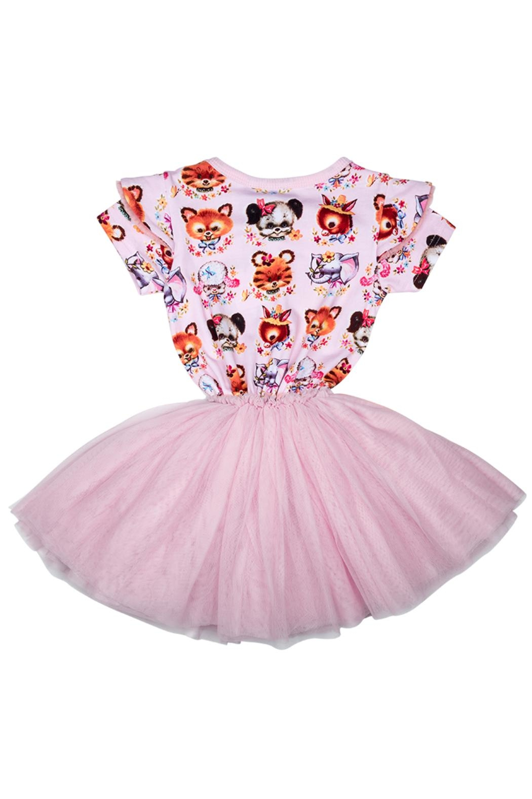 Rock Your Baby Creatures Circus Dress - Front Full Image