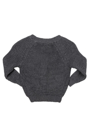 Rock Your Baby Grey Baby Cardigan - Side cropped