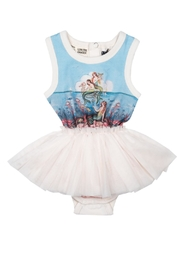 Rock Your Baby Little Mermaids Dress - Front cropped