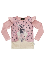 Rock Your Baby Pink Rabbit Long-Sleeve Top - Product Mini Image