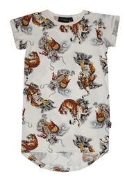 Rock Your Baby Tigers Dragons Dress - Product Mini Image