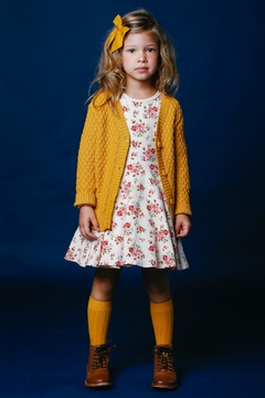 Shoptiques Product: Mustard Yellow Cardigan