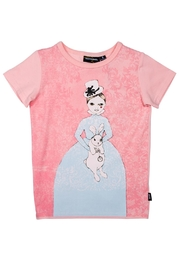 Rock Your Baby White Rabbit T-shirt - Product Mini Image