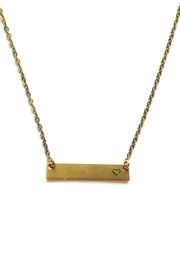 ROCKAWAY gypsea Heart Bar Necklace - Product Mini Image