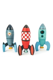 Tender Leaf Toys Rocket Construction Set - Front cropped