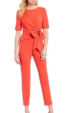 Adrianna Papell Rocket Girl Jumpsuit in Hot Tomato - Alternate List Image