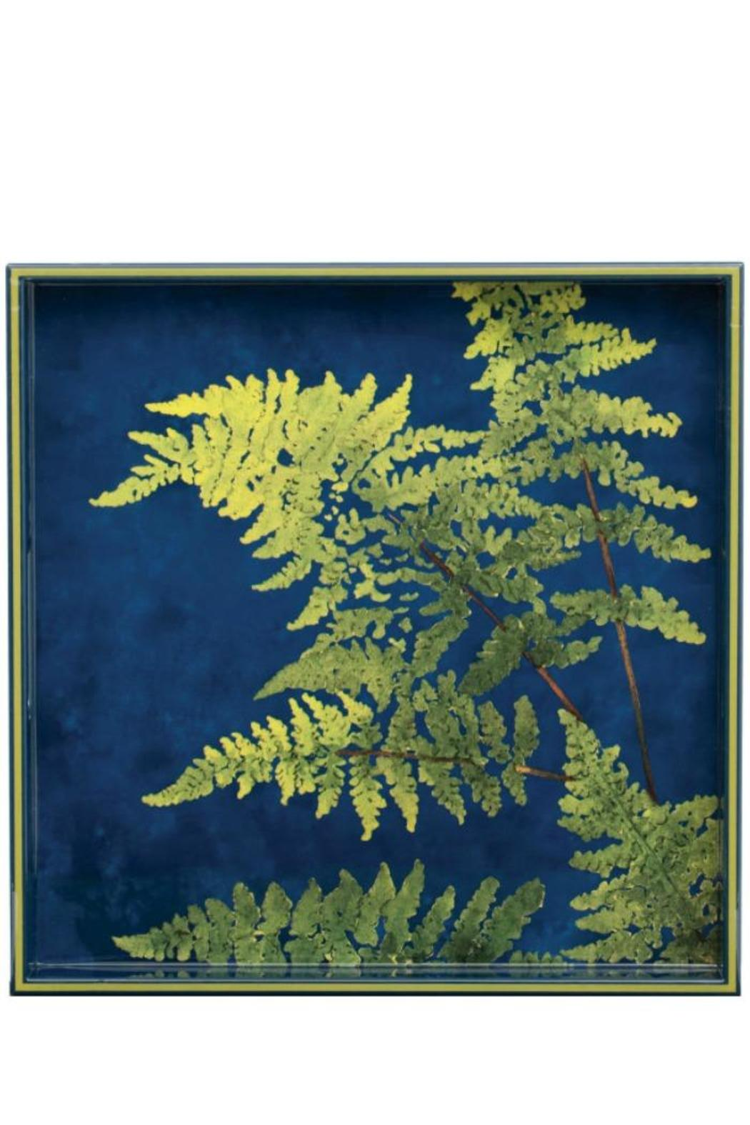 Rock Flower Paper Lady Fern Tray Front Cropped Image