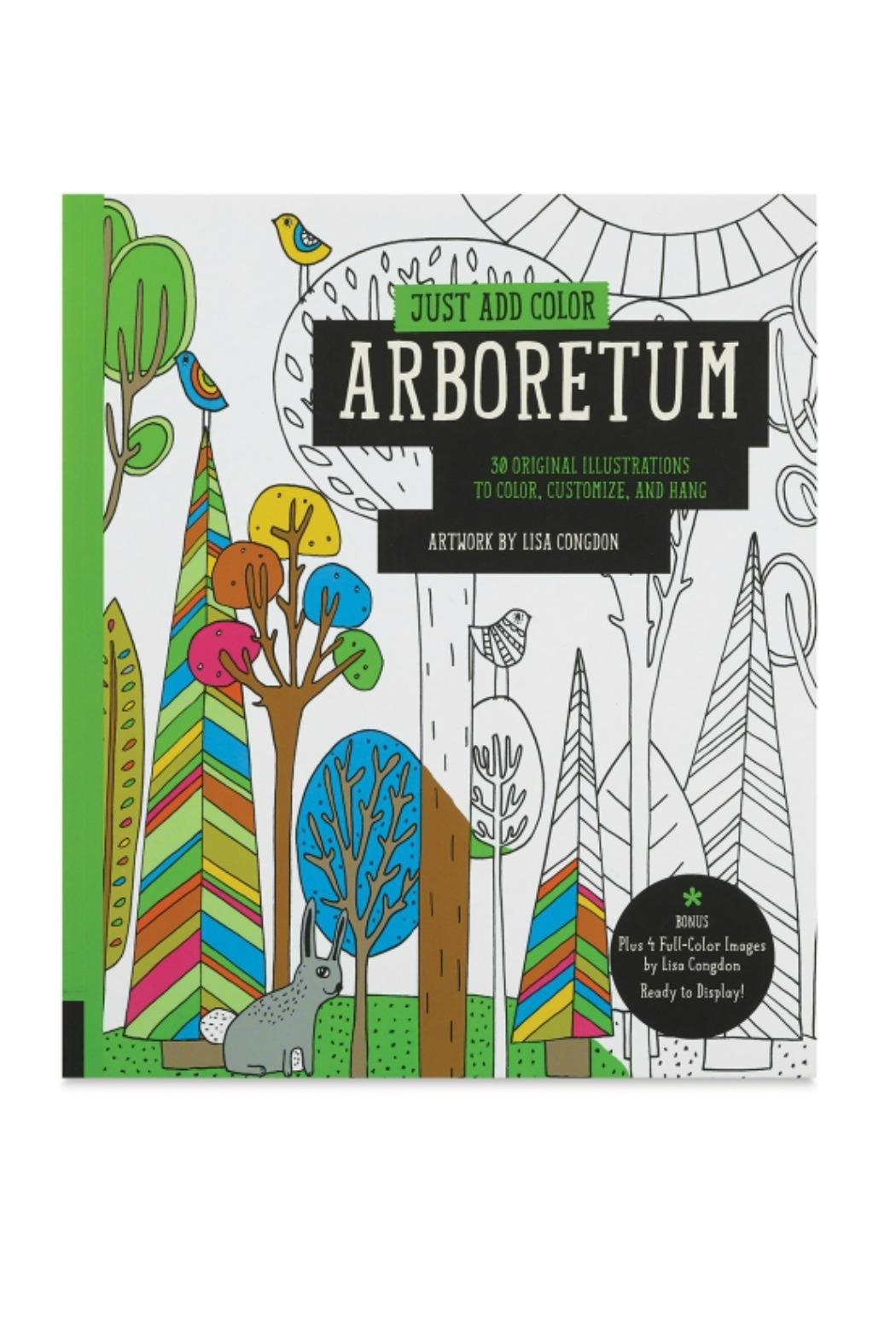 Rockport Arboretum Coloring Book - Front Cropped Image