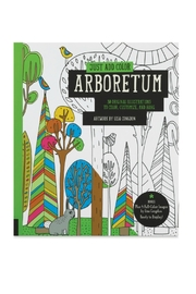 Rockport Arboretum Coloring Book - Front cropped