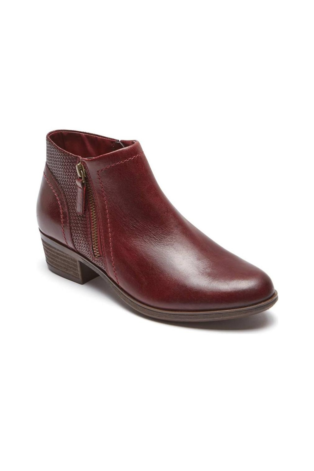 Rockport Oliana Pull-On Bootie - Front Full Image