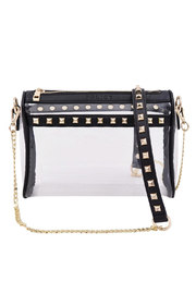 Policy Handbags Rockstar Clear Bag - Front cropped