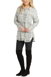 Mud Pie Rocky Buttondown - Front cropped
