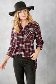 Mud Pie Rocky Flannel Button-Down - Product Mini Image