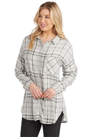 Mud Pie Rocky Flannel Button-Up - Product Mini Image