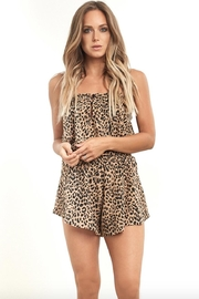 Saltwater Luxe Roddie Cheetah Shorts - Product Mini Image