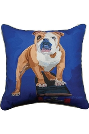 Manual Woodworkers and Weavers Rodney Bulldog Pillow - Product Mini Image